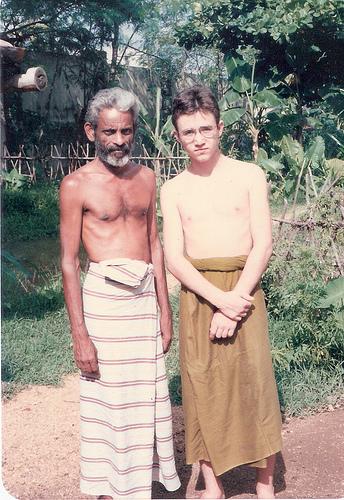 with Goviya Mudiyanse Tennekoone, 1991