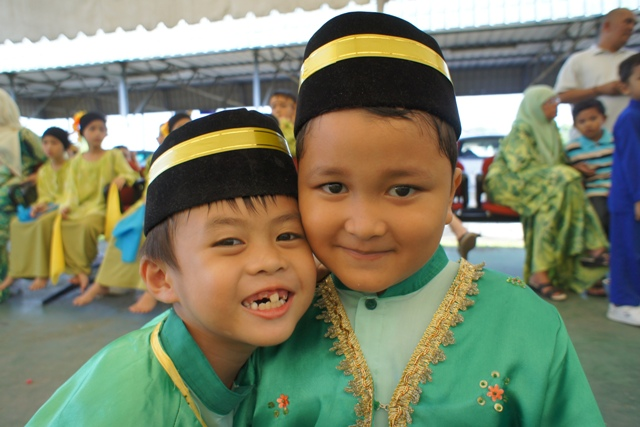 Two Friends at the Convocation