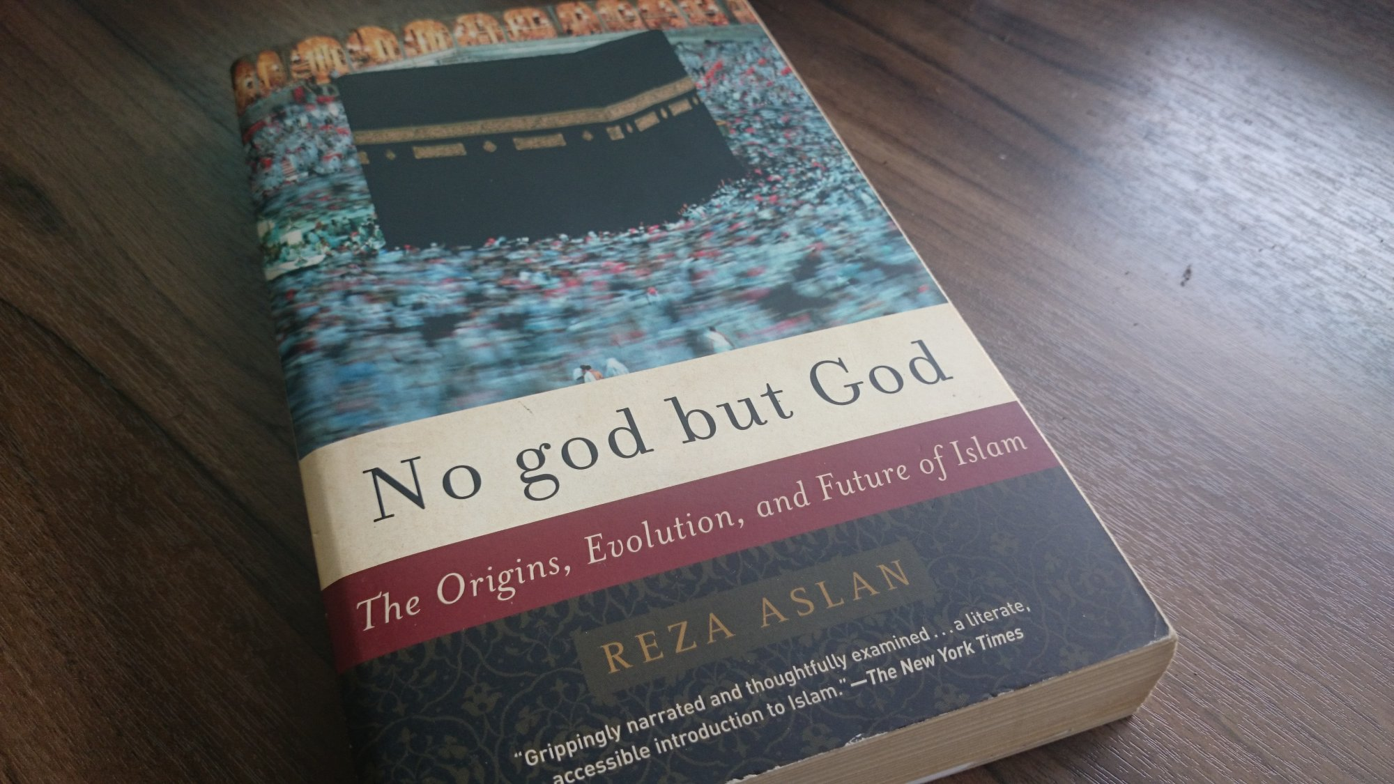No God but God and Reza Aslan is the Author