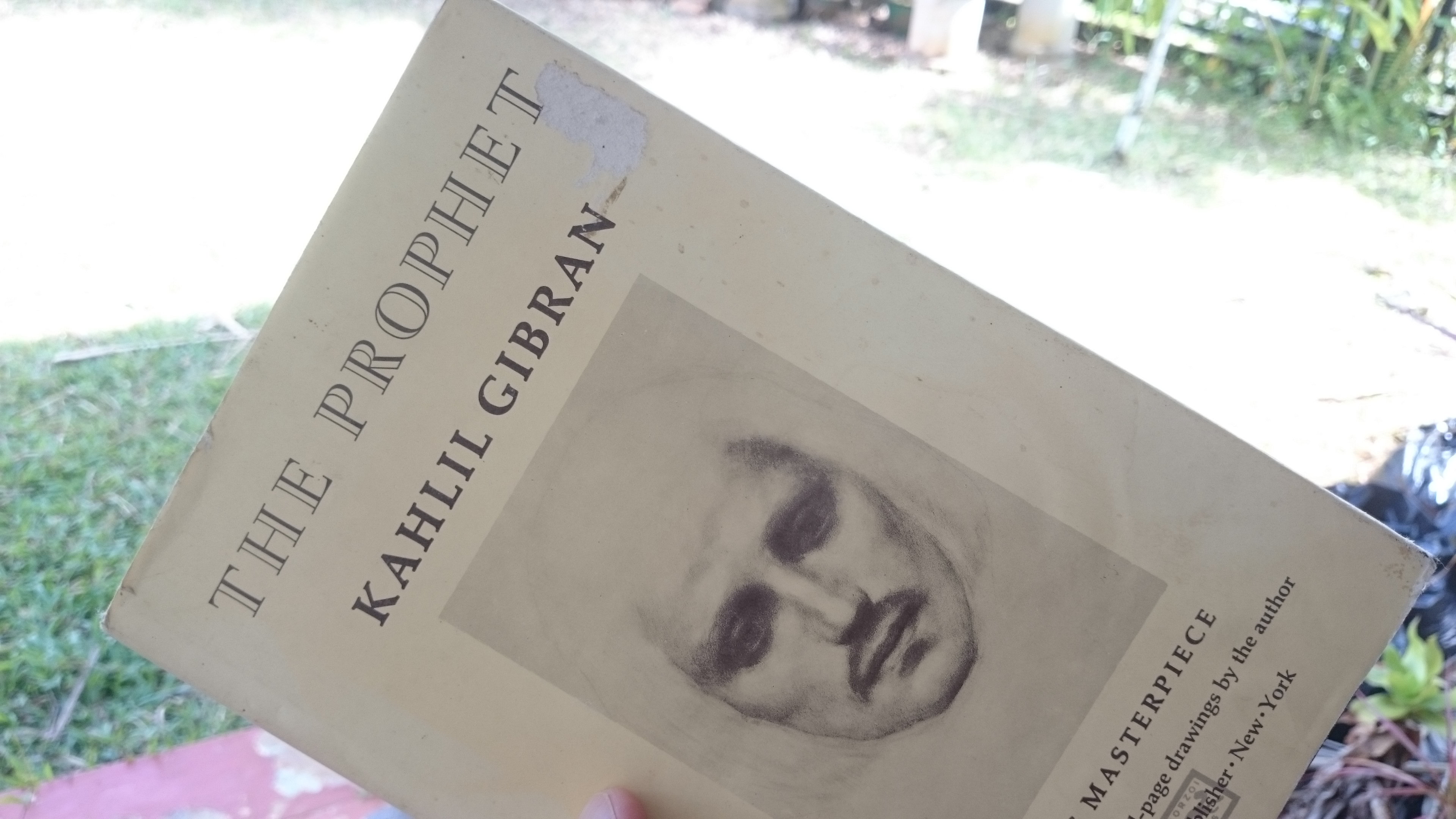 The Prophet, Khalil Gibran